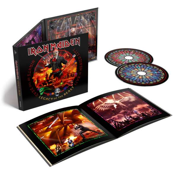 Nights of the Dead - Legacy of the Beast, Live in Mexico City - Iron Maiden - Musik - PARLOPHONE - 0190295204723 - November 20, 2020