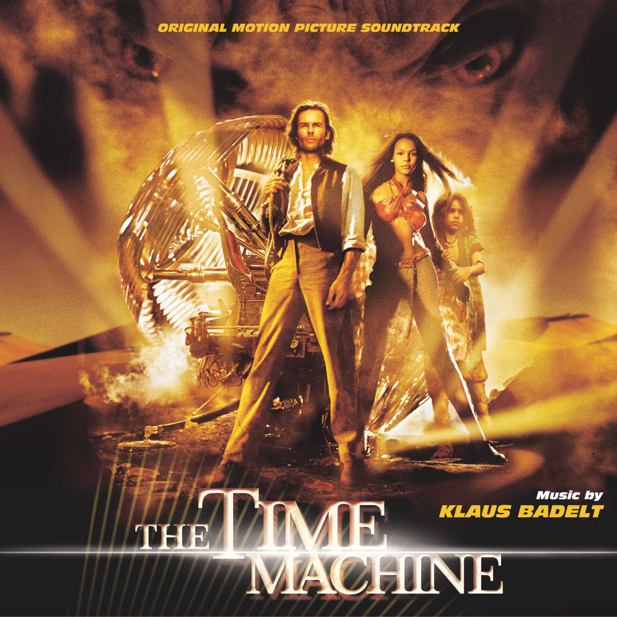The Time Machine - Badelt, Klaus / OST - Musik - SOUNDTRACK/SCORE - 0030206633726 - March 26, 2002