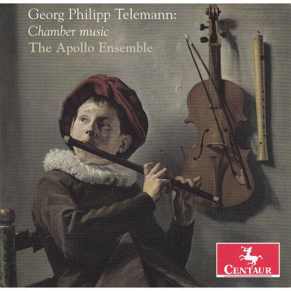 Chamber Music - G.P. Telemann - Musik - CENTAUR - 0044747326726 - 1990