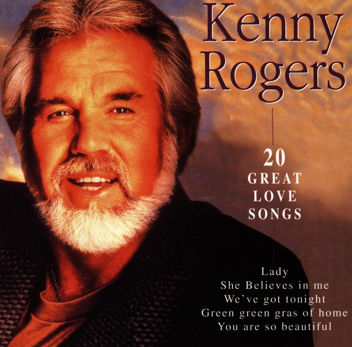 20 Great Love Songs - Kenny Rogers - Musik - Disky Records - 0724348860729 - February 2, 1998