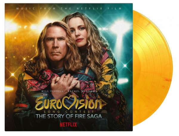 Eurovision Song Contest: The Story Of Fire Saga (Flaming Vinyl) - O.s.t - Musik - MUSIC ON VINYL - 8719262017733 - July 9, 2021