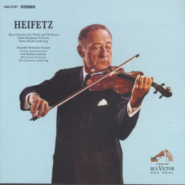 Violinkonzert Op.24 - Miklós Rózsa (1907-1995) - Musik - ANALOGUE PRODUCTIONS - 0753088276767 - March 25, 2016