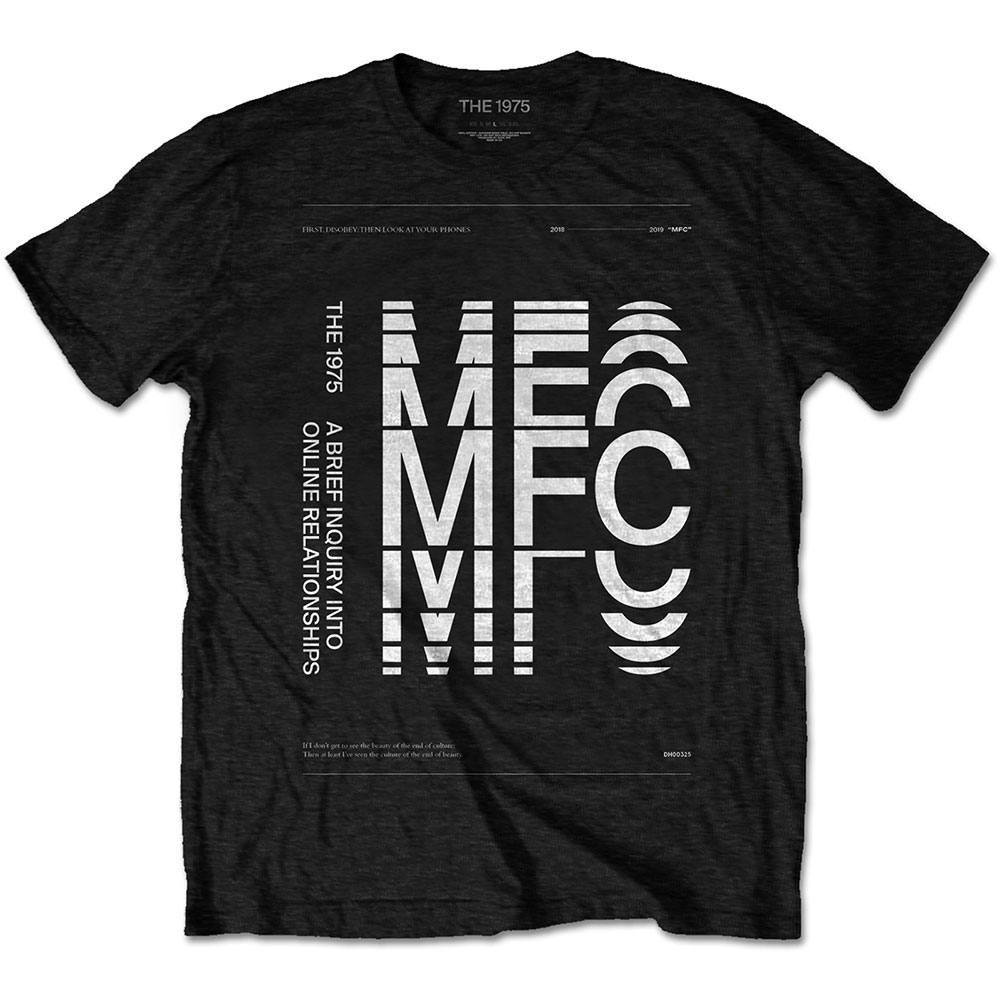 The 1975 Unisex T-Shirt: ABIIOR MFC - 1975 - The - Merchandise -  - 5056170682787 -