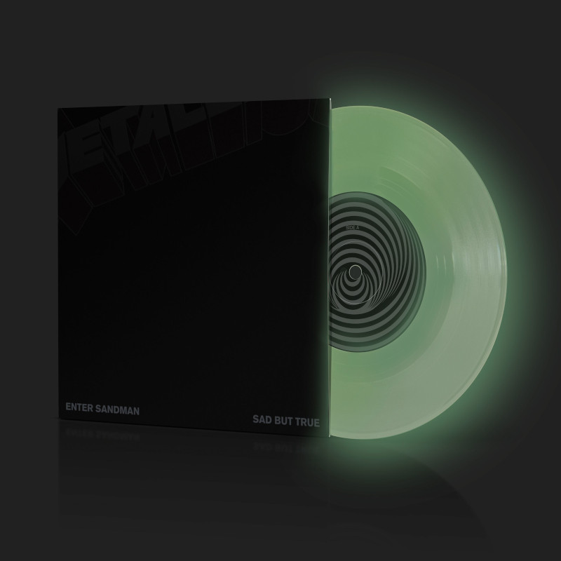 Enter Sandman (Ltd.glow 7,germany Exkl.) - Metallica - Musik -  - 0600753943793 - August 20, 2021