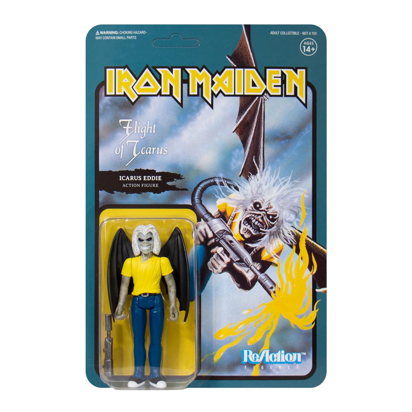 Iron Maiden Reaction Figure - Flight Of Icarus (Single Art) - Iron Maiden - Merchandise - SUPER 7 - 0840049800793 - March 16, 2020