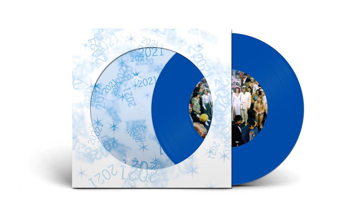 "Happy New Year 2021 (Blue 7"" Single) - Abba - Musik -  - 0602435239811 - December 4, 2020"