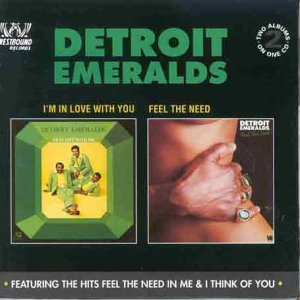 IM In Love With You - Detroit Emeralds - Musik - ACE RECORDS - 0029667376822 - December 31, 1993