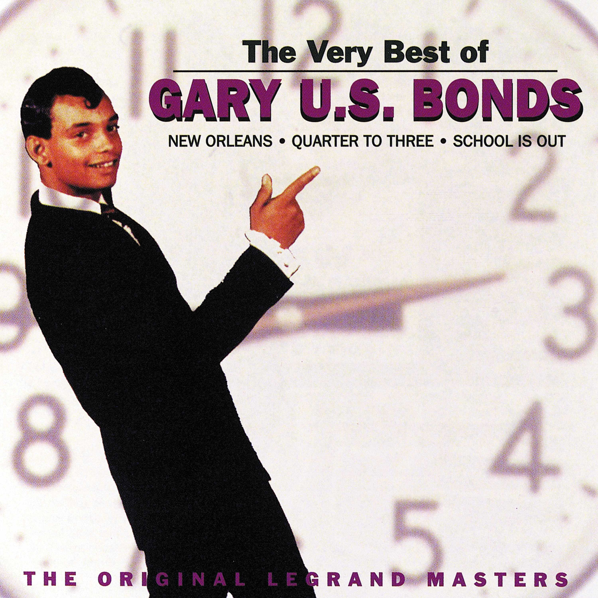 Very Best Of - Gary U.S. Bonds - Musik - VARESE SARABANDE - 0030206593822 - August 11, 1998