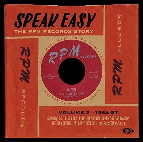 Speak Easy - V/A - Musik - ACE - 0029667062824 - November 27, 2014
