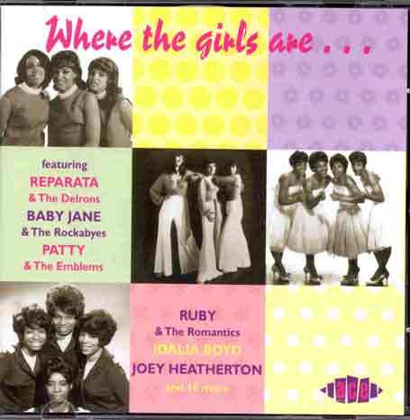 Where The Girls Are - V/A - Musik - ACE - 0029667164825 - May 27, 1997