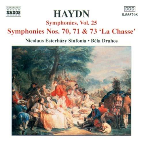 Symphony No.70,71,73 - J. Haydn - Musik - NAXOS - 0747313570829 - March 11, 2002
