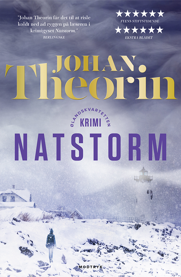 Ølandskvartetten: Natstorm - Johan Theorin - Bøger - Modtryk - 9788770072861 - January 23, 2020