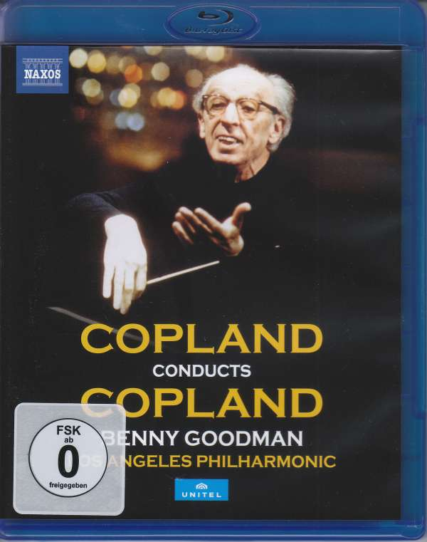 Copland Conducts Copland - A. Copland - Film - NAXOS - 0730099006866 - March 5, 2018