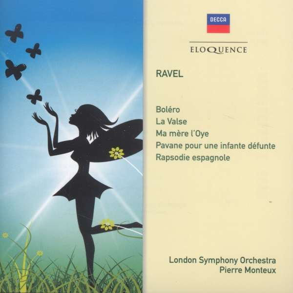 Ma Mere L'oye / Bolero/La Valse / Pavane / Rapsodie Espagnol - M. Ravel - Musik - ELOQUENCE - 0028948088904 - September 25, 2015