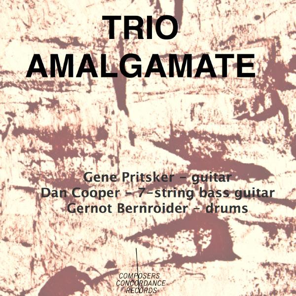 Trio Amalgamate - Pritsker / Trio Amalgamate - Musik - Composers Concordance/Naxos - 0045635364905 - November 13, 2012