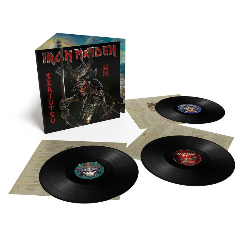 Senjutsu - Iron Maiden - Musik - PARLOPHONE - 0190295015916 - September 3, 2021