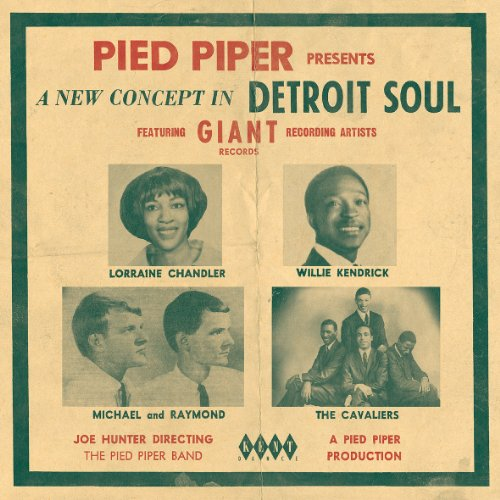 Pied Piper Presents A New Concept In Detroit Soul - V/A - Musik - KENT DANCE - 0029667238922 - January 31, 2013
