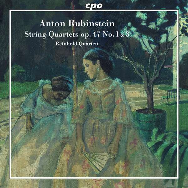 String Quartets - A. Rubinstein - Musik - CPO - 0761203770922 - October 9, 2020