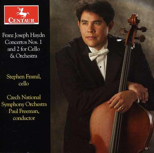 Cello Concertos No.1 & 2 - Frami - Musik - CENTAUR - 0044747303925 - March 21, 2012