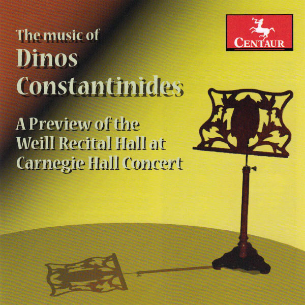 Music of Dinos Constantinides - Constantinides / Dietz / Gurt - Musik - Centaur - 0044747325927 - March 26, 2013