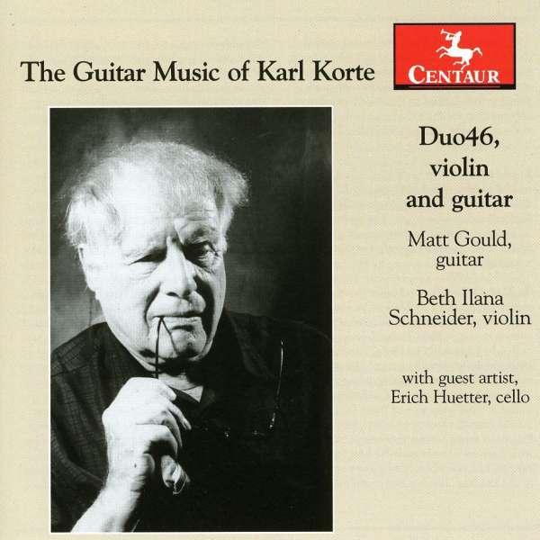 Guitar Music of Karl Korte - K. Korte - Musik - CENTAUR - 0044747305929 - March 21, 2012
