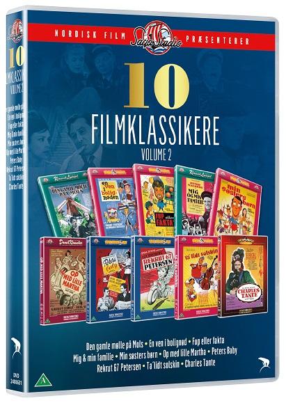 Saga - 10 Filmklassikere (Vol. 2) -  - Film - Nordisk Film - 5708758725934 - August 5, 2021
