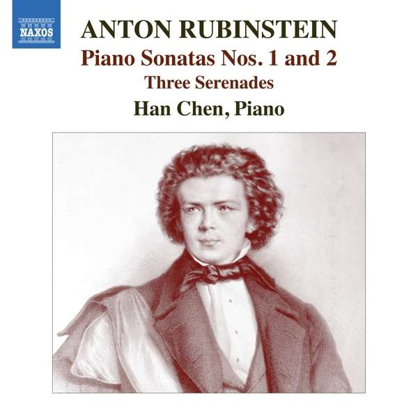 Piano Sonatas Nos.1 & 2 - A. Rubinstein - Musik - NAXOS - 0747313398973 - January 3, 2020