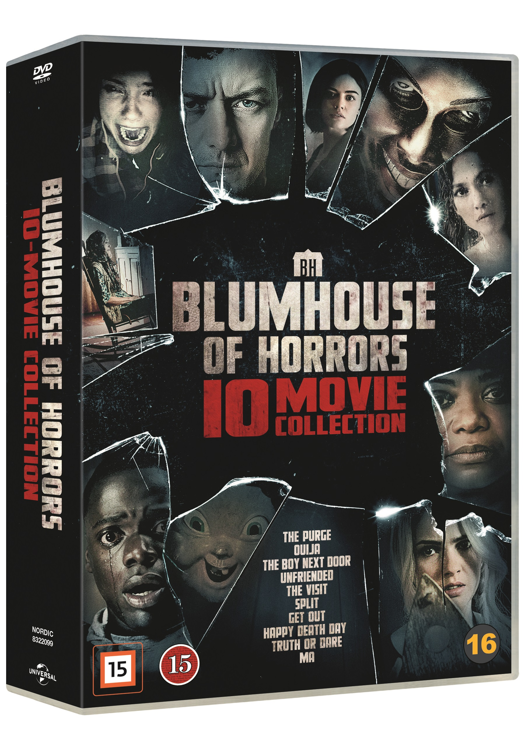 Blumhouse of Horrors - 10 Movie Collection -  - Film -  - 5053083220990 - October 19, 2020