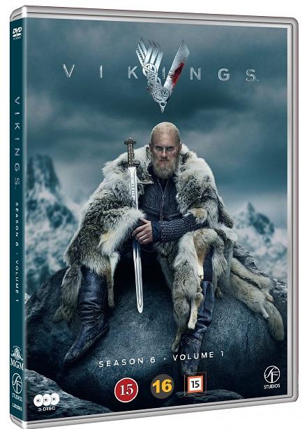 Vikings - Sæson 6 (Vol. 1) - Vikings - Film -  - 7333018017993 - November 23, 2020
