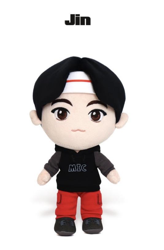 JIN - BTS - TINYTAN MIC DROP DOLL - Merchandise -  - 8809311973001 -