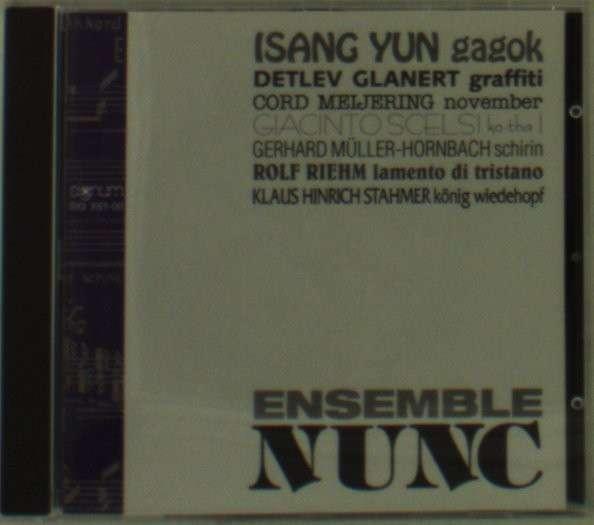 Ensemble Nunc - Ensemble Nunc - Musik - SIGNUM CLASSIC - 4011254061002 - June 1, 1995