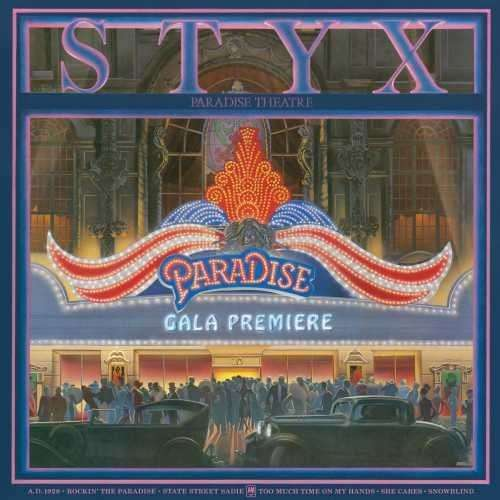 Paradise Theatre - Styx - Musik - ROCK - 0602547041005 - 17/7-2015