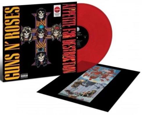 Appetite for Destruction (12' Limited Edt.vinile Colorato & Rimasterizzato) - Guns 'N' Roses - Musik - GEFFEN RECORDS - 0602567901006 - 2018
