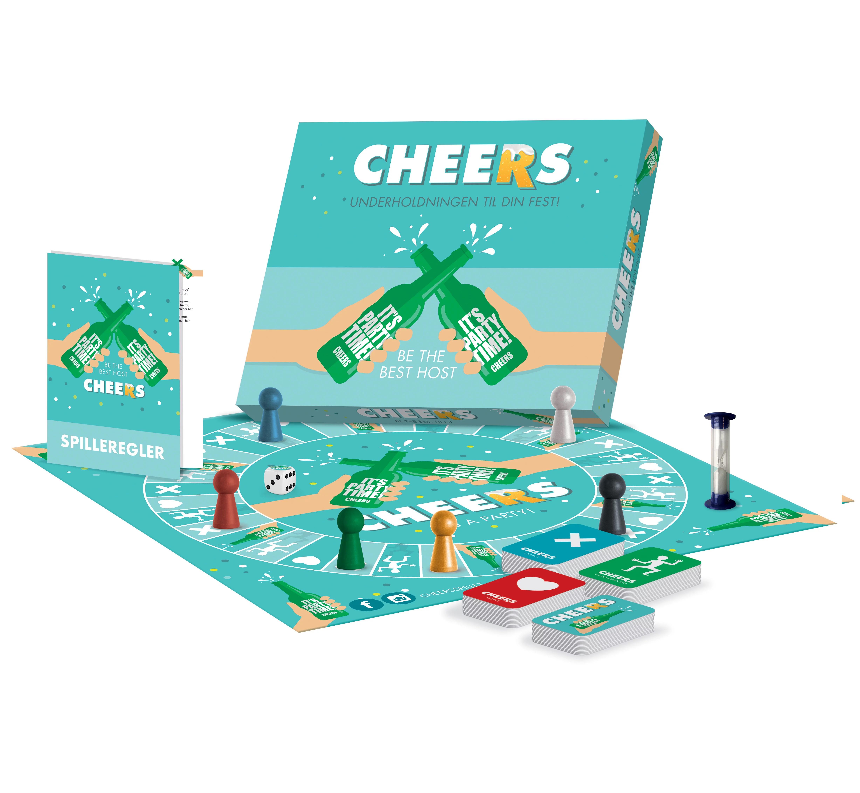 Cheers: Underholdningen til din fest -  - Brætspil -  - 5700002162007 -