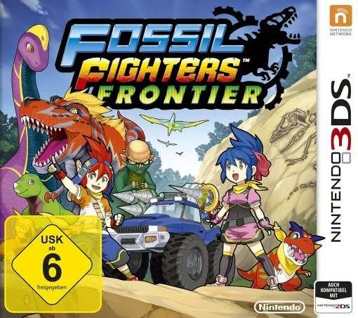 3DS Fossil Fighters Frontier - N3ds - Bøger -  - 0045496528010 - 29/5-2015
