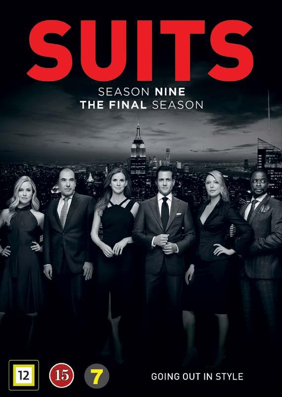 Suits - Season 9 - Suits - Film -  - 5053083211011 - 6/4-2020