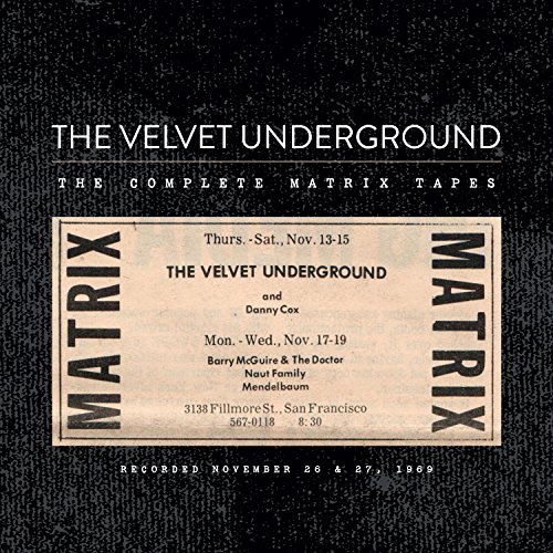 Complete Matrix Tapes - The Velvet Underground - Musik - ROCK - 0602547549013 - November 26, 2015