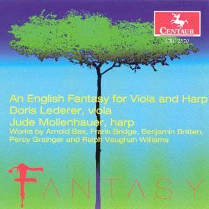 An English Fantasy - Jude Lederer - Musik - CENTAUR - 0044747257020 - 13/11-2002