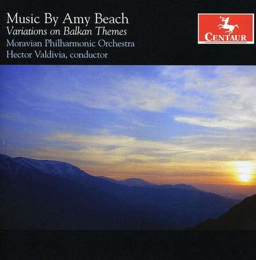 Variations on Balkan Themes - Amy Beach - Musik - Centaur - 0044747299020 - 29/9-2009