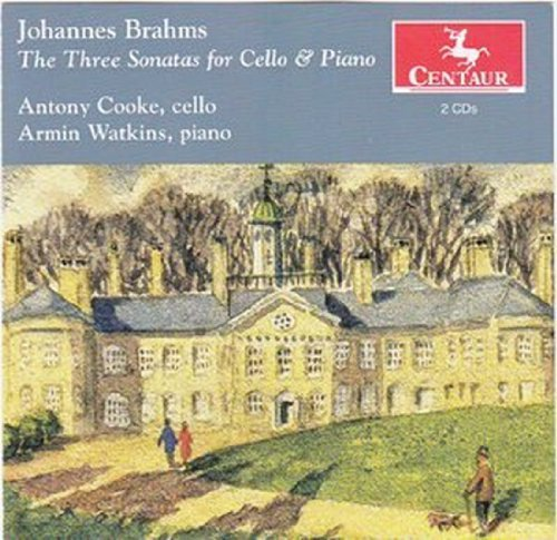 Three Sonatas for Cello & Piano - Cooke / Watkins - Musik - CENTAUR - 0044747314020 - 21/3-2012