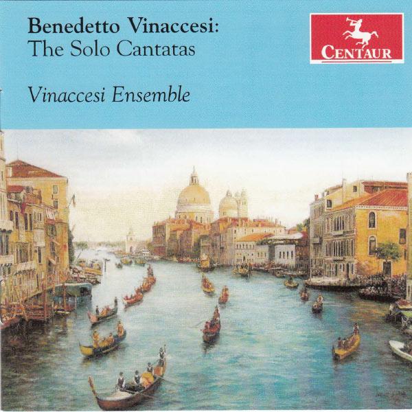 Solo Cantatas - Vinaccesi Ensemble - Musik - CENTAUR - 0044747327020 - 30/4-2013
