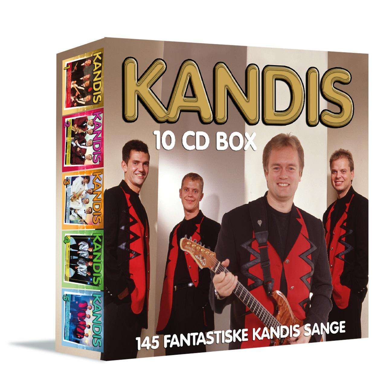 Kandis 10 CD Box - KANDIS - Musik -  - 5709165616020 - 2/4-2020