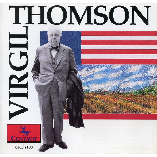 Synthetic Waltzes for Piano 4 Hands - Virgil Thomson - Musik - Centaur (Klassik Center Kassel) - 0044747218021 - 25/1-1995
