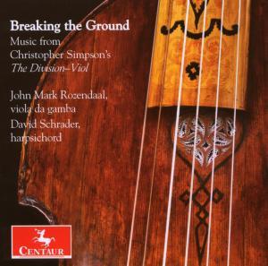 Breaking the Ground - Rozendaal / Scrader - Musik - CENTAUR - 0044747292021 - 30/4-2014