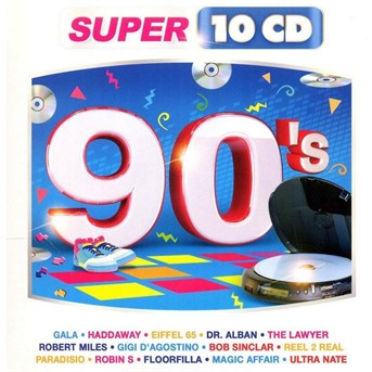 90's - Collection Super Series - Musik - WAGRAM - 3596972974021 - 1970