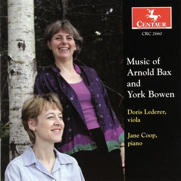 Sonatas - Bax / Bowen / Lederer / Coop - Musik - CENTAUR - 0044747266022 - 27/4-2004