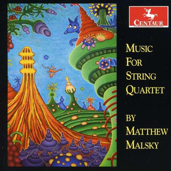 Music for String Quartet - V/A - Musik - CENTAUR - 0044747307022 - March 21, 2012