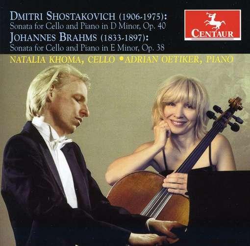 Sonatas for Cello & Piano - Khoma, Natalia / Adrian Oetiker - Musik - CENTAUR - 0044747310022 - November 30, 2011