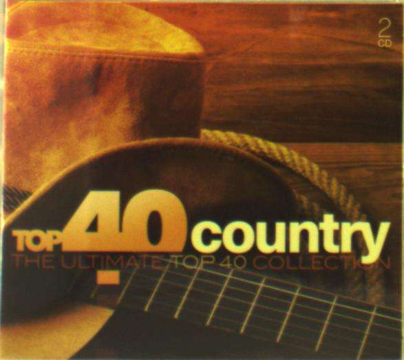 Top 40 - Country - V/A - Musik - SONY MUSIC - 0889854060022 - 8/12-2016