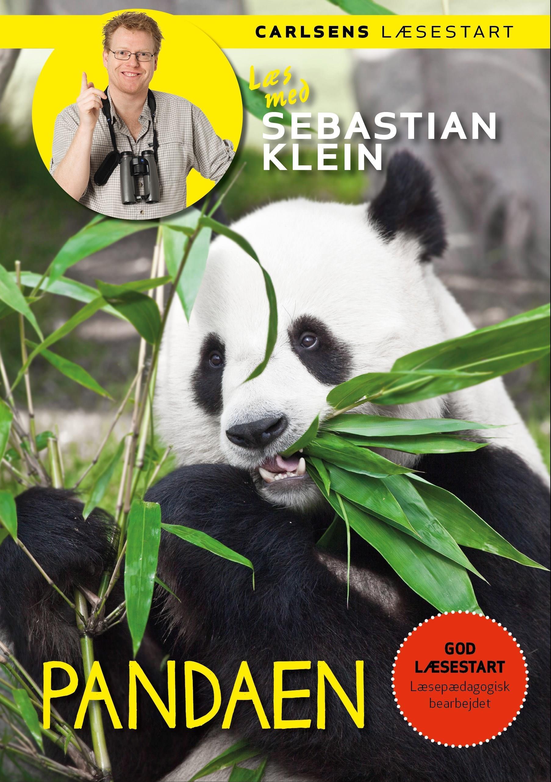 Læs med Sebastian Klein: Læs med Sebastian Klein - Pandaen - Sebastian Klein - Bøger - CARLSEN - 9788711917022 - 27/5-2019